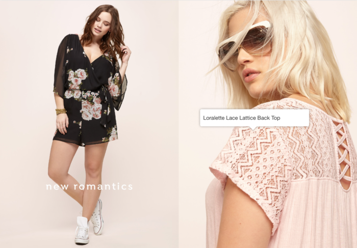 shoppable images