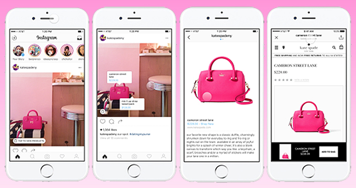 shoppable Instagram