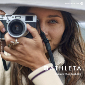 Athleta lookbook