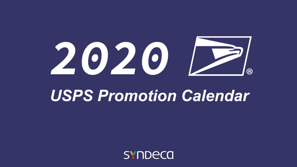 USPS 2020 Promotions